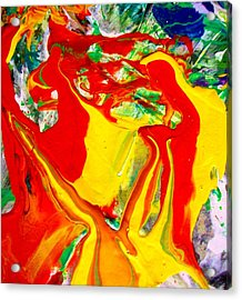My Paintings Scream  Acrylic Print by Bruce Combs - REACH BEYOND