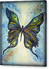 My Peacock Butterfly Acrylic Print