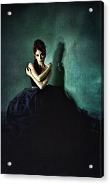 My Place Among The Shadows Acrylic Print by Spokenin RED