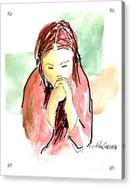 My Prayer Acrylic Print