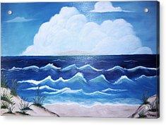 My Private Beach Acrylic Print by Dwayne Barnes