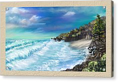 My Private Ocean Acrylic Print
