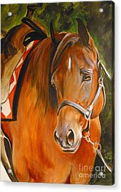 My Quarter Horse Acrylic Print