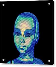 My Robot Girl Acrylic Print