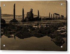 My Sea Of Ruins IIi Acrylic Print by Marco Oliveira