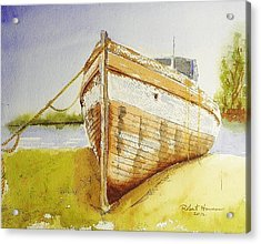 My Ship Came In Acrylic Print by Robert  ARTSYBOB Havens
