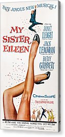 My Sister Eileen, Us Poster Art, 1955 Acrylic Print