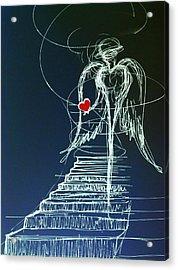 My Soul Awaits With Love At Hand Acrylic Print