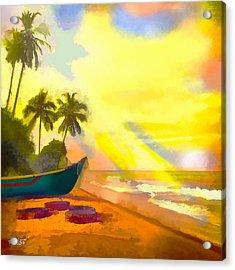 My Special Island Acrylic Print