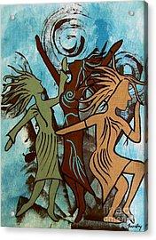 My Spirit Dances Acrylic Print