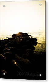 My Stepping Stones 2 Acrylic Print by BandC  Photography