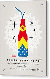 My Super Soda Pops No-04 Acrylic Print