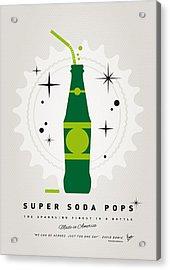 My Super Soda Pops No-20 Acrylic Print by Chungkong Art