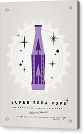 My Super Soda Pops No-25 Acrylic Print by Chungkong Art