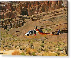 My Taxi To The Grand Canyon And Back Acrylic Print by John Malone