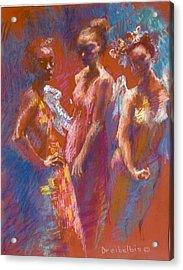 My Three Angels Acrylic Print