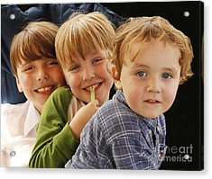 My Three Grandsons Acrylic Print