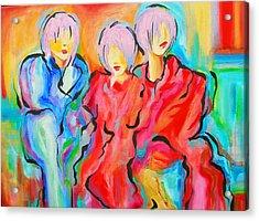 My Three Muses Acrylic Print by Susi Franco