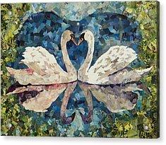 My True Love Hath My Heart Acrylic Print