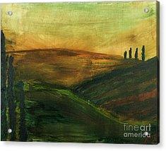 My Tuscany  Acrylic Print by Katy  Scott
