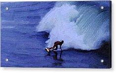 My Wave Acrylic Print by Ron Regalado