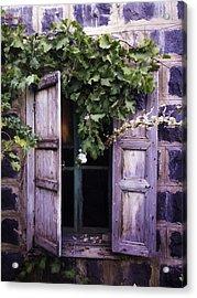 My Window Acrylic Print by Jamil Alkhoury