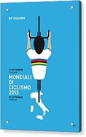My World Championships Minimal Poster Acrylic Print