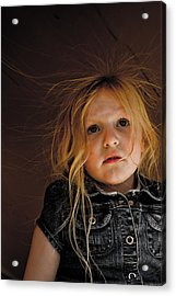 Acrylic Print featuring the photograph Myah by Joel Loftus