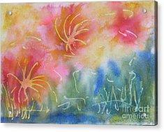Mya's Garden Acrylic Print