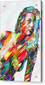 Myriad Of Colors Acrylic Print