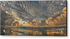 Myrtle Beach Panorama 2 Acrylic Print by Jeff Breiman