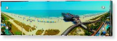 Acrylic Print featuring the photograph Myrtle Beach South Carolina by Alex Grichenko