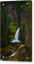 Mysteries Of Wahclella Acrylic Print by Darren  White