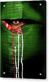 Mysterious Eye Acrylic Print by Adithya Zen