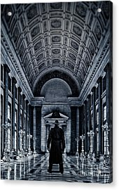 Mysterious Man Acrylic Print by Edward Fielding