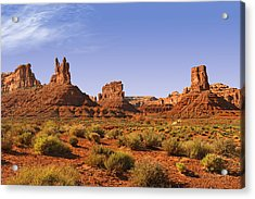 Mysterious Valley Of The Gods Acrylic Print
