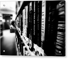 Acrylic Print featuring the photograph Mystery At The Library by Lucinda Walter