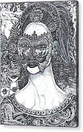Mystery Girl Acrylic Print