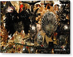 Carnival Of Venice Acrylic Print by Jacqueline M Lewis