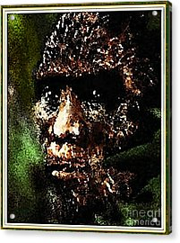Mystery Of Bigfoot Acrylic Print by Hartmut Jager