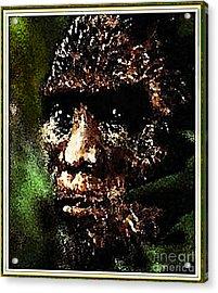 Mystery Of Bigfoot Acrylic Print