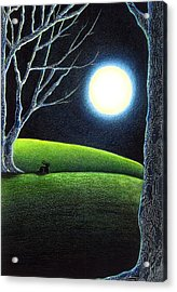Mystery's Silence And Wonder's Patience Acrylic Print