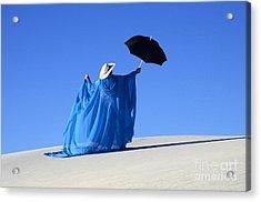 Mystic Blue 2 Acrylic Print by Bob Christopher