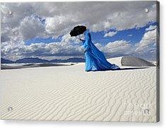 Mystic Blue 8 Acrylic Print by Bob Christopher