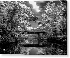 Acrylic Print featuring the photograph Mystic Cuyahoga by David Stine