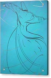Mystic Dancer Parinda Acrylic Print
