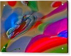 Mystic Dragon Acrylic Print by Omaste Witkowski