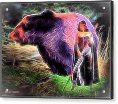 Mystic Druid Acrylic Print