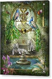 Mystic Garden Acrylic Print by Ciro Marchetti