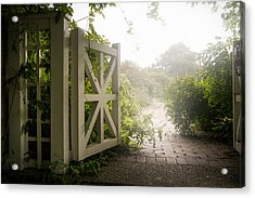 Mystic Garden - A Wonderful And Magical Place Acrylic Print